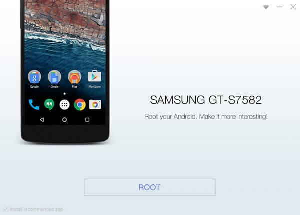 Comenzar a usar el dispositivo Samsung con KingoRoot, la mejor herramienta de root Android con un solo clic.